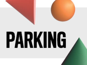 image with shapes and the word parking